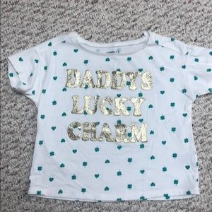 Daddy's lucky 🍀 charm shirt